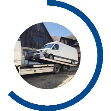 Sicherstellung von Fahrzeugen | Maschinenhandel Polewka
