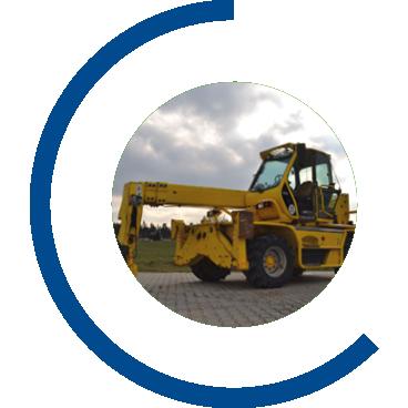 Transport von Nutzfahrzeugen | Maschinenhandel Polewka