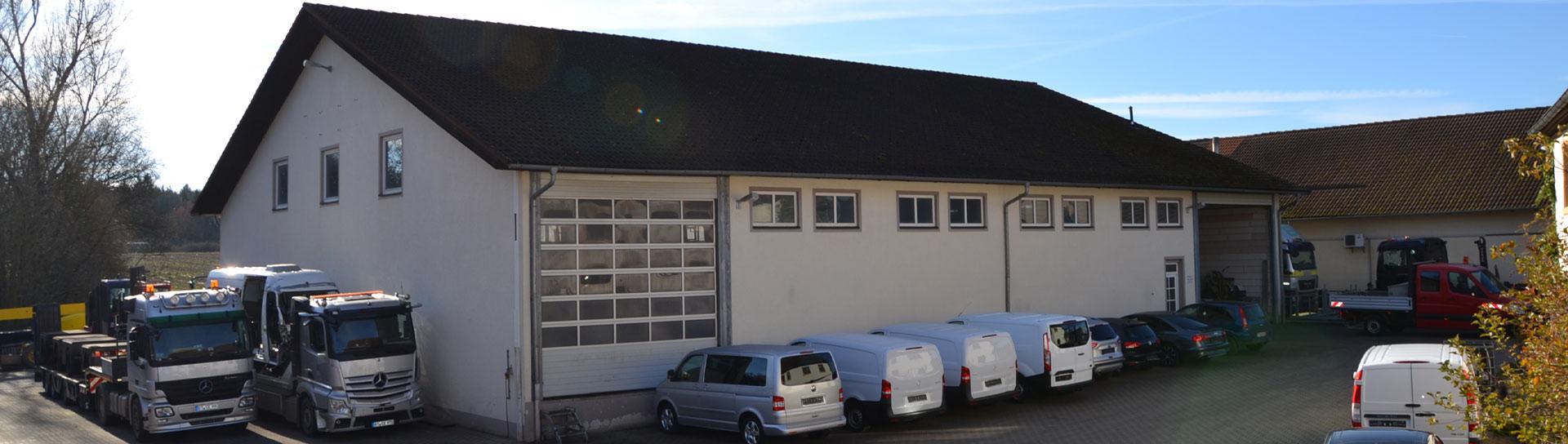Firmengebäude | Maschinenhandel Polewka
