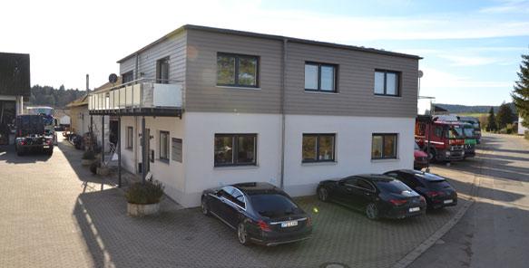 Firmengebäude   Maschinenhandel Polewka